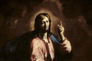 """Image du tableau """"Le Sauveur du monde"""" (1655)"""