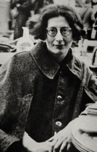 Photo de Simone Weil